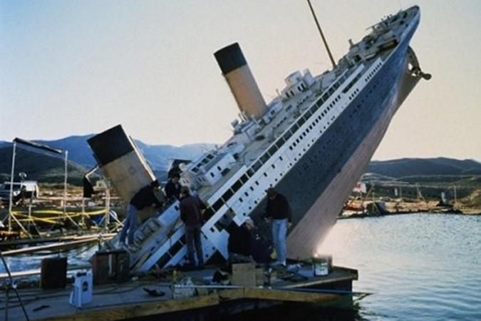 Как снимали фильм «Титаник»